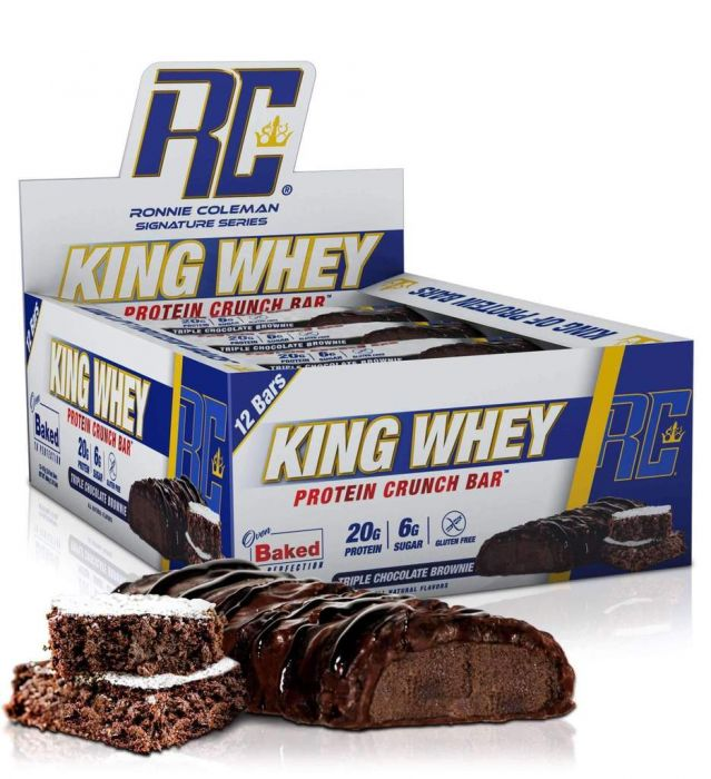 Ronnie Coleman - King Whey Protein Crunch Bar