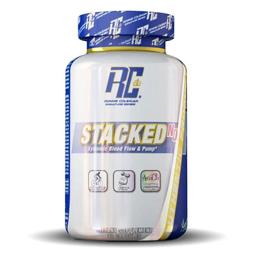 Ronnie Coleman - Stacked-N.O. Capsules - 90 Capsules