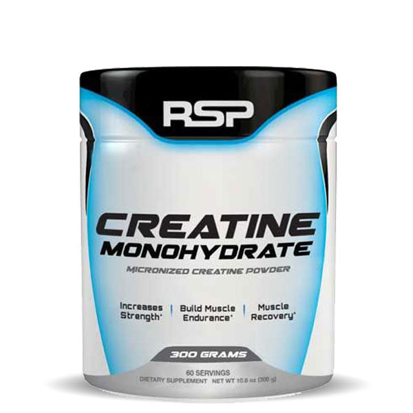 RSP Nutrition - Creatine Monohydrate - Unflavoured - 300g