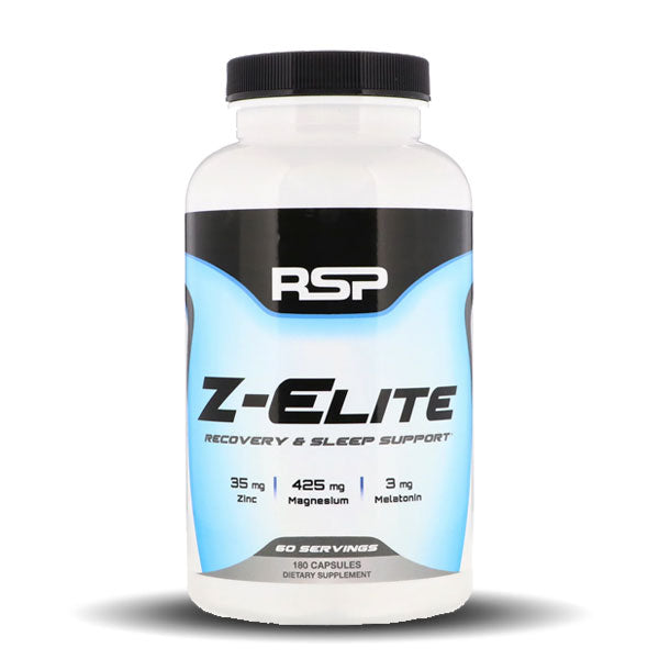 RSP Nutrition - Z-ELITE - Unflavored - 180 Capsules