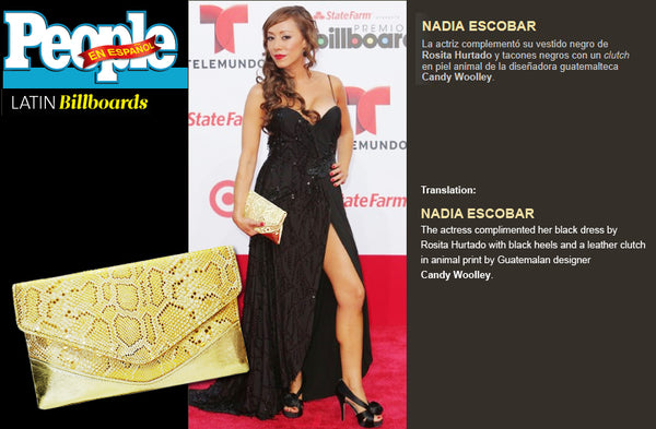 Nadia Escobar People en Espanol latin billboards