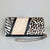 JUNGLE BAG, PATCHWORK ANIMAL-PRINT CALF HAIR, BLACK & WHITE