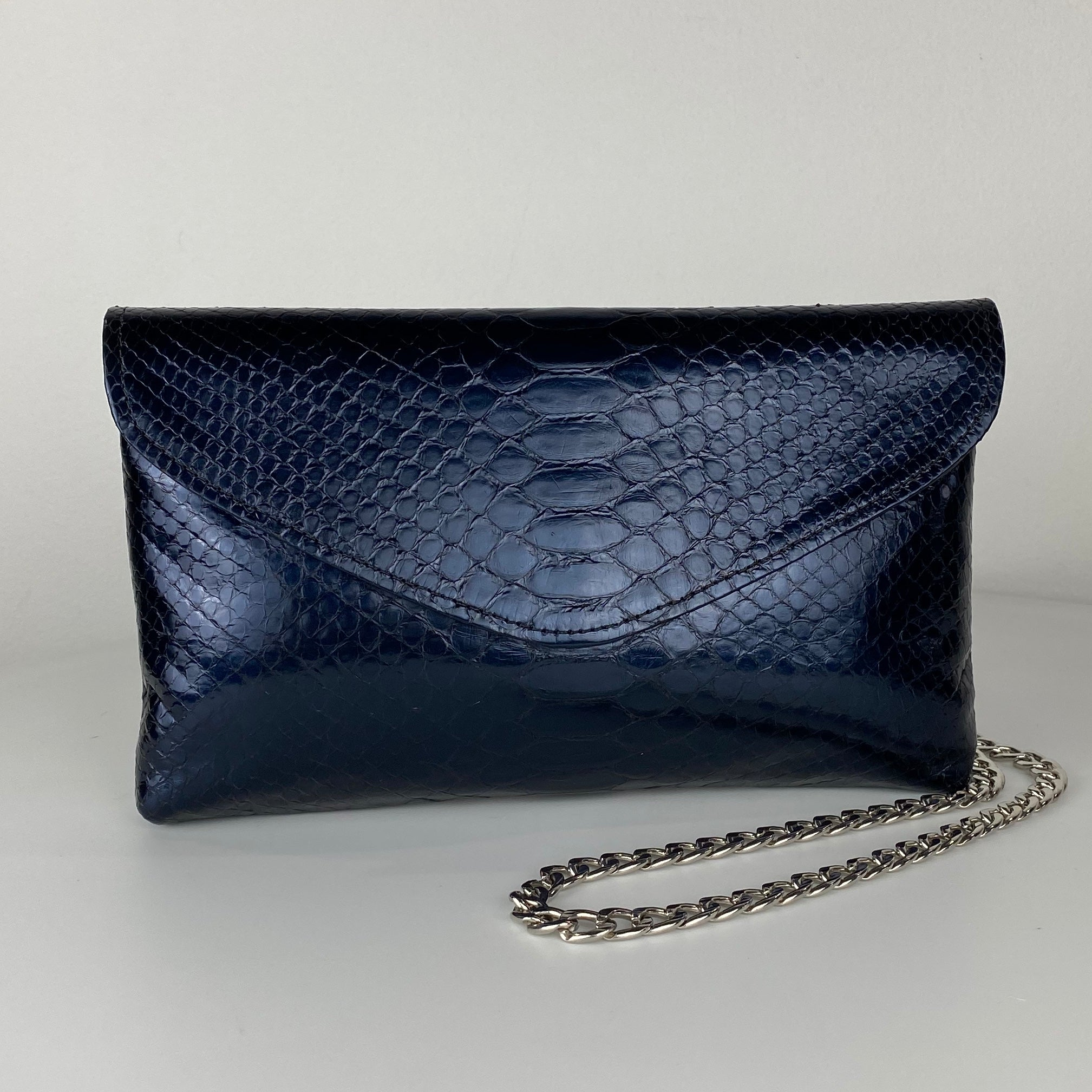 CLASSIC ENVELOPE BAG, MIDNIGHT BLUE