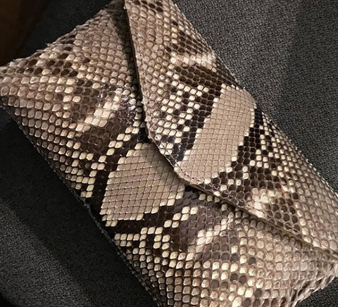 CLASSIC ENVELOPE CLUTCH, EXOTIC