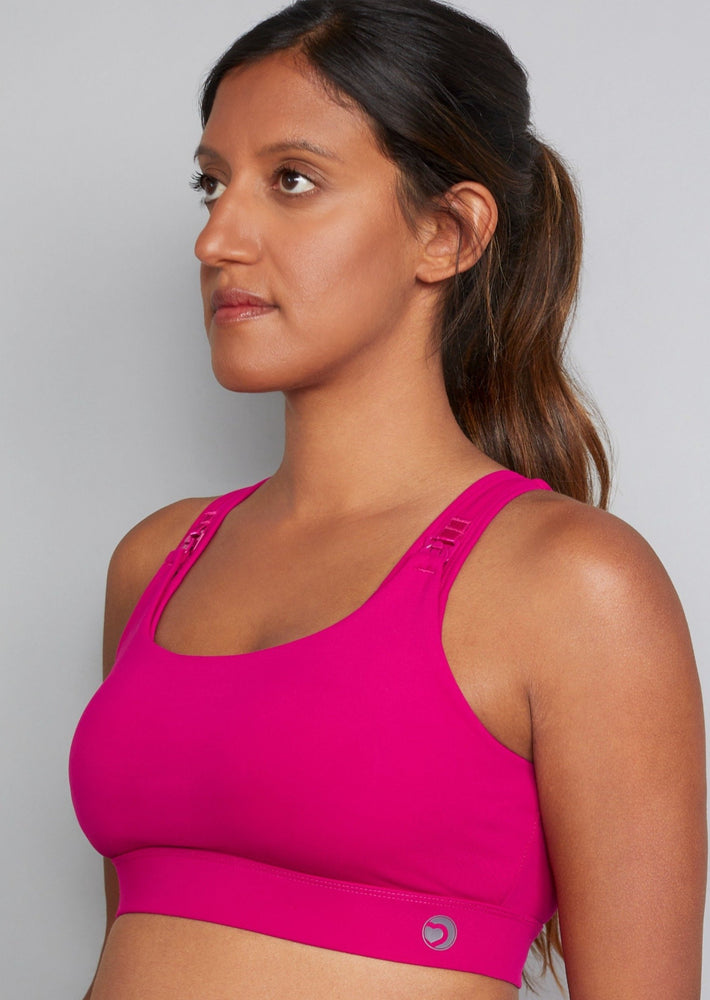 Vitality Nursing Sports Bra in Very Berry (Sizes B-F)