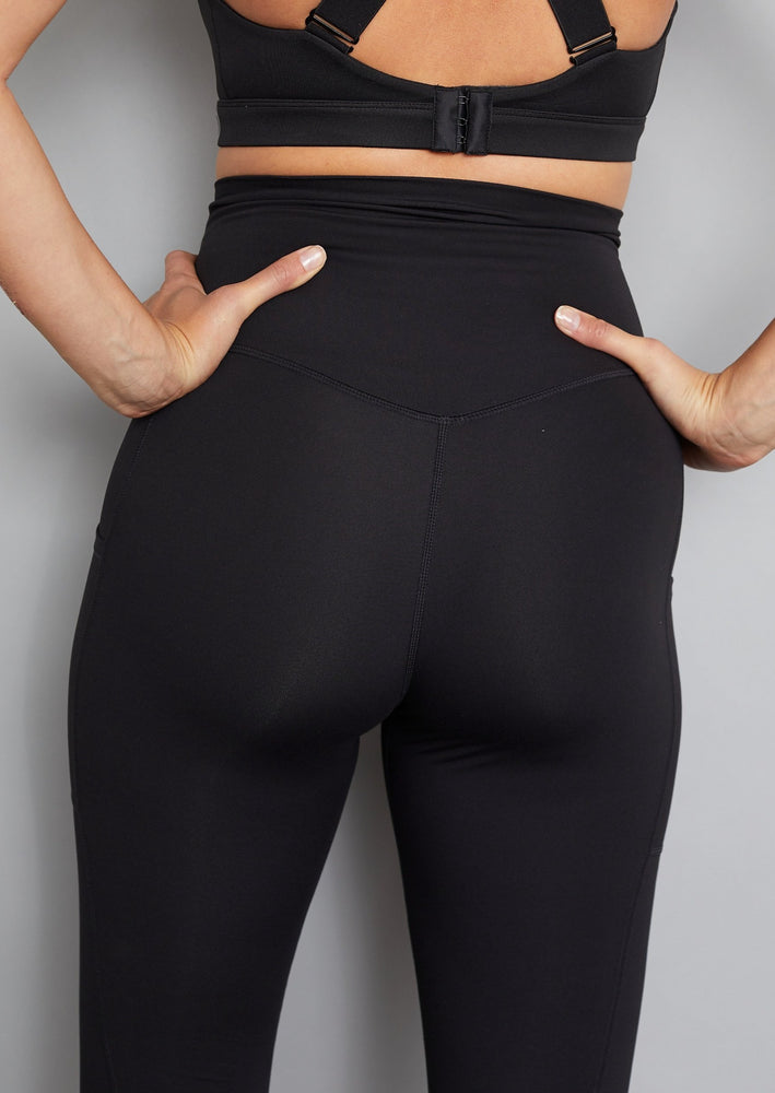 Luxe Maternity Leggings - Soft Black