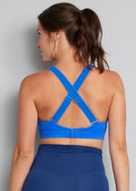 Artemis Total Comfort Nursing Sports Bra in Electric Blue (B-H cup)