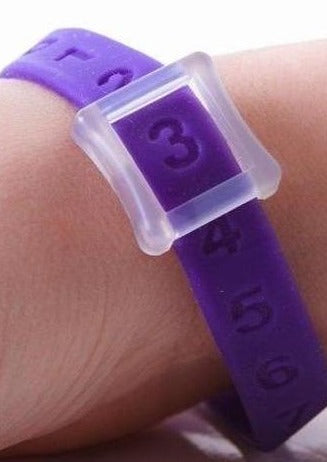 Kicks Count Wristband