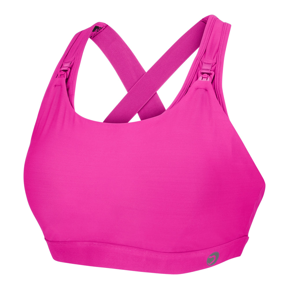 Artemis Total Comfort Nursing Sports Bra in Hot Pink (C-H cup)