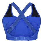 Artemis Total Comfort Nursing Sports Bra in Electric Blue (C-H cup)