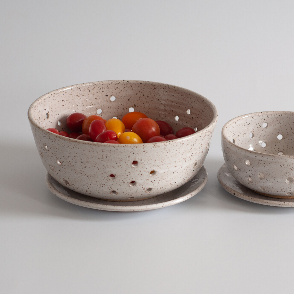 Large Berry Bowl with Dish