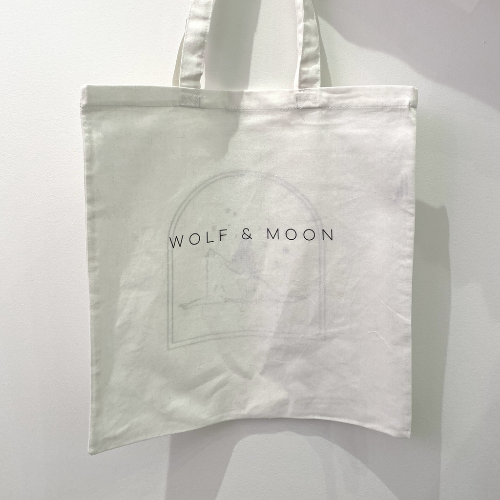 Wolf & Moon Tote Bag