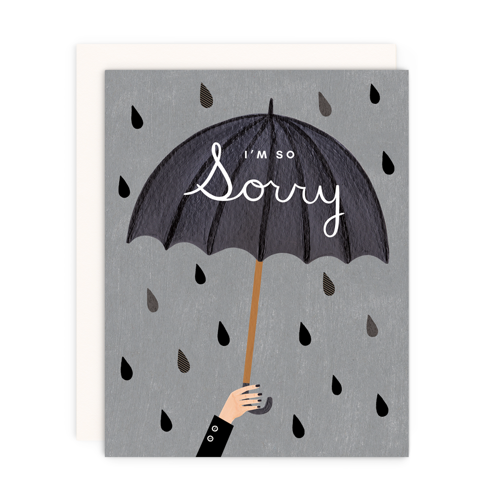 I'm So Sorry Greeting Card