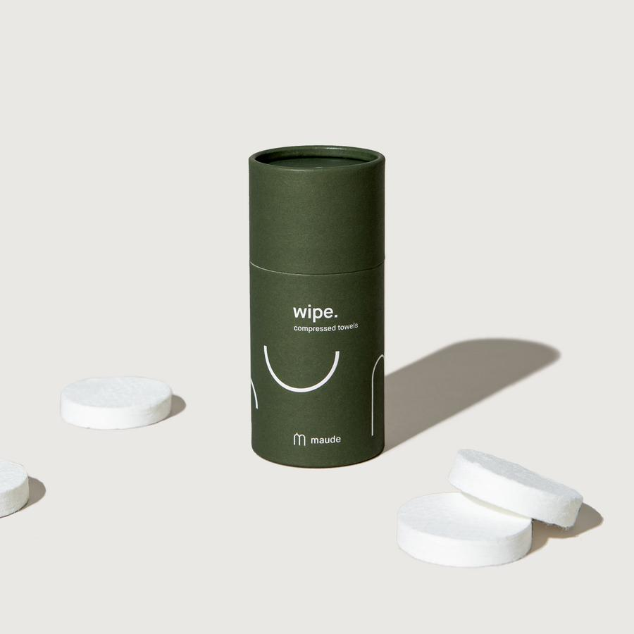 Wipe- Compostable Compressed Towels