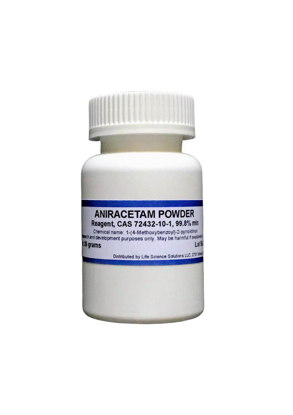 Aniracetam powder, 25 Grams