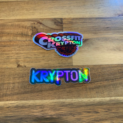 Krypton Holographic Sticker Pack