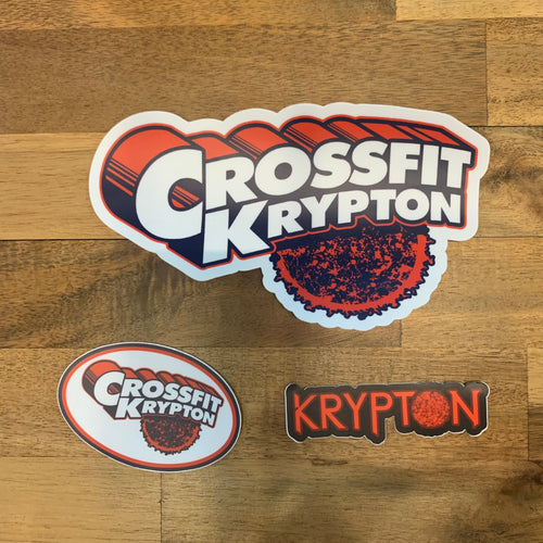 Krypton Classic Sticker Pack