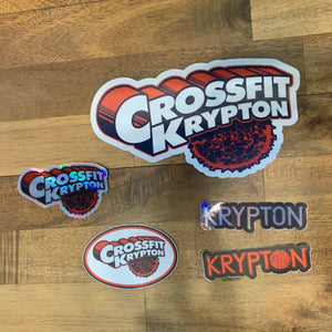 Krypton Deluxe Sticker Pack