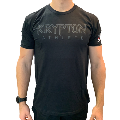 Krypton Athlete Firefighters Tee