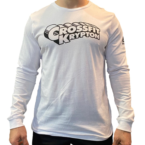Krypton Long Sleeve White Shirt