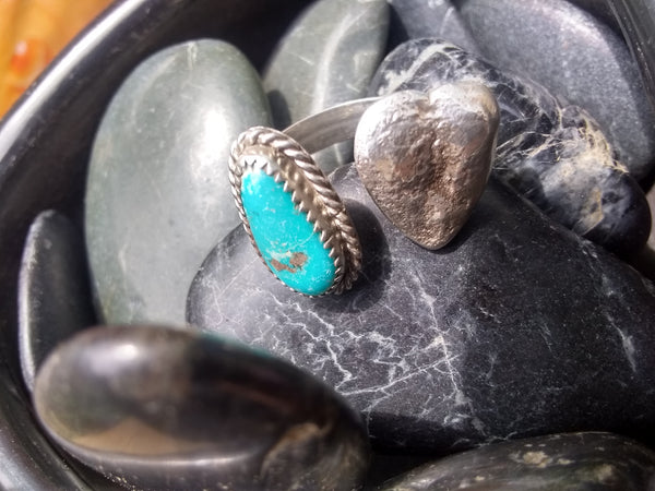 Turquoise Adjustable Ring