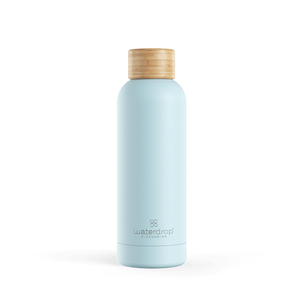 Waterdrop Pastel Steel Bottles 0.5 L