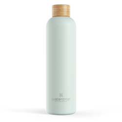 Waterdrop Pastel Steel Bottles 1 L