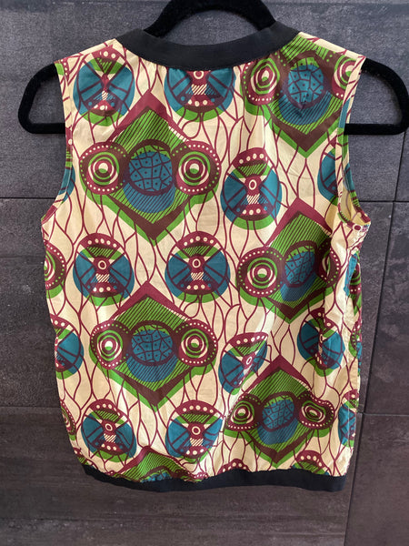 Marni for H&M cotton sleeveless top size 2