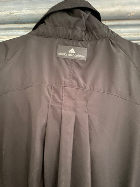 Stella McCartney for Adidas black double zipper windbreaker size M