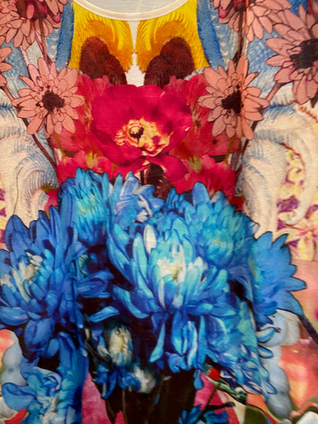 Stella McCartney Floral Collage tank top size S