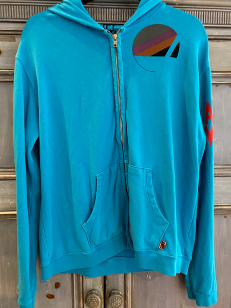 Free City artist wanted collection zip up hoodie size 3/L