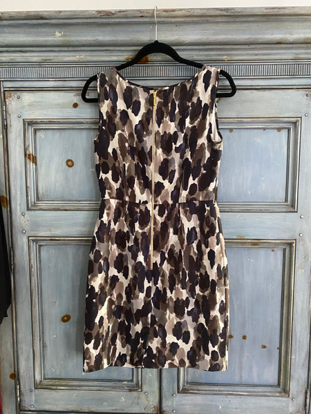 Kate Spade sleeveless silk dress size 8