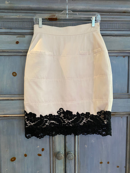 Lagerfeld for Bergdorff Goodman evening skirt size 40 made in France