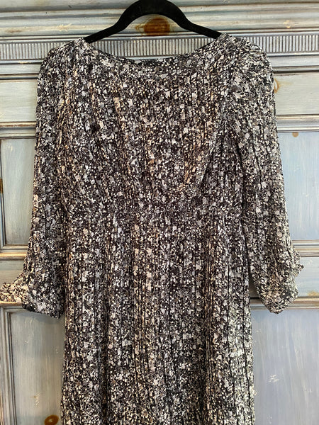 Anine Bing pleated mini dress size S