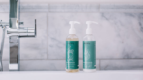 Puracy natural shampoo and conditioner
