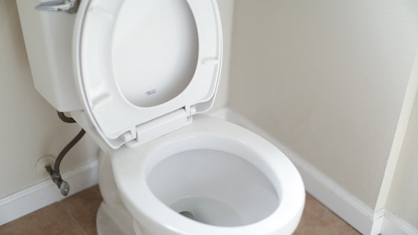 hard water stains in toilet