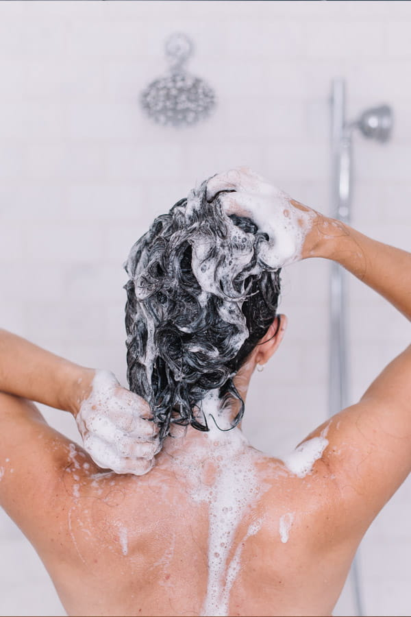 Dimethicone in shampoo