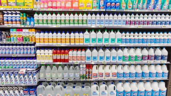 harsh cleaning chemicals