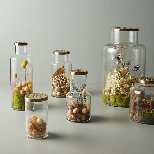 Floral Fragrance Jars
