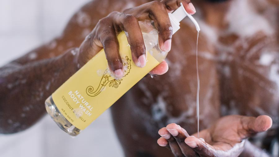 natural body wash for eczema