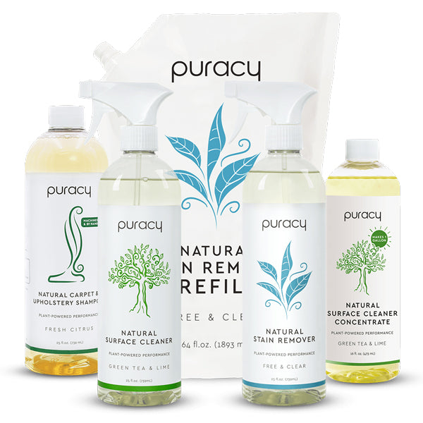 all natural Puracy products