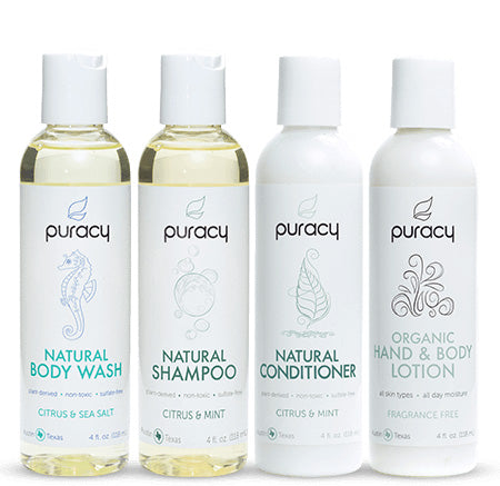 Puracy Personal Care Travel Set