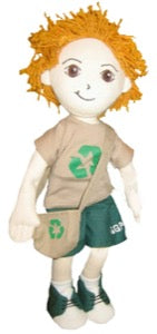 Global Green Pals Recycle Kyle Doll