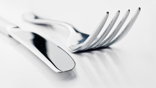 clean silverware naturally