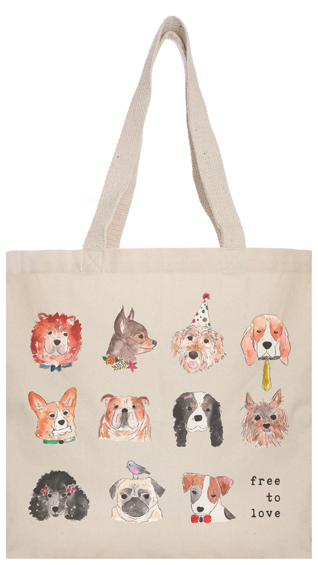 The Tote Project Dog Lover Tote Bag