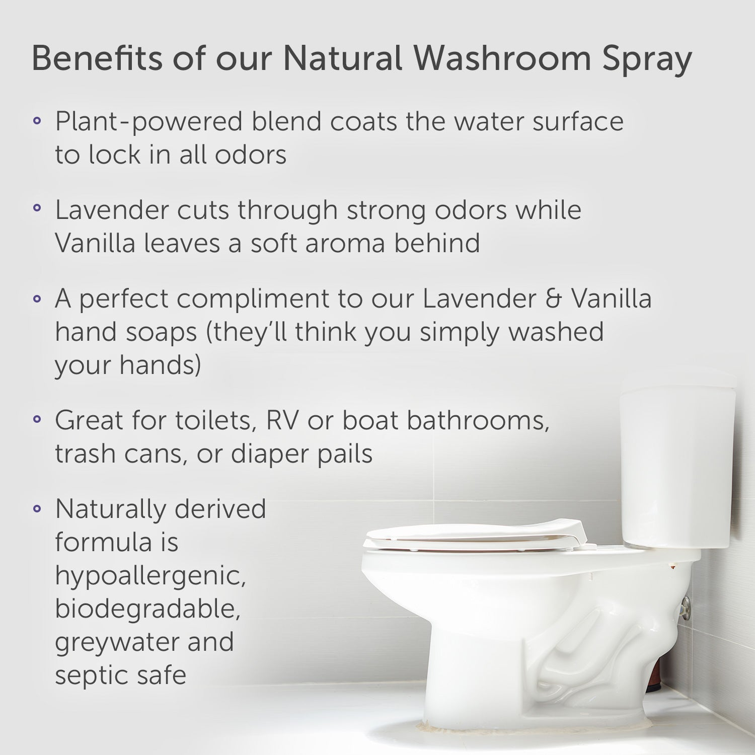 Puracy Natural Toilet Spray & Bathroom Air Freshener - Puracy®