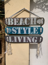 Load image into Gallery viewer, Woodensigns 3 pieces , Beach Style Living