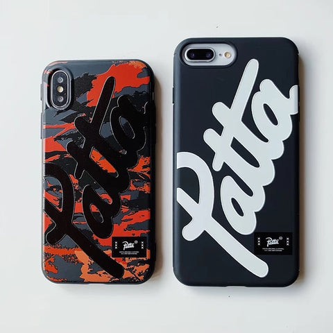 street fashion brand patta cover iphone