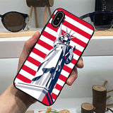 American Flag cover iphone, cover samsung