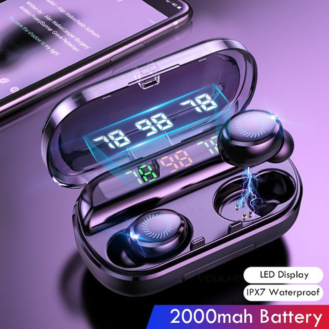8D Wireless Earphone